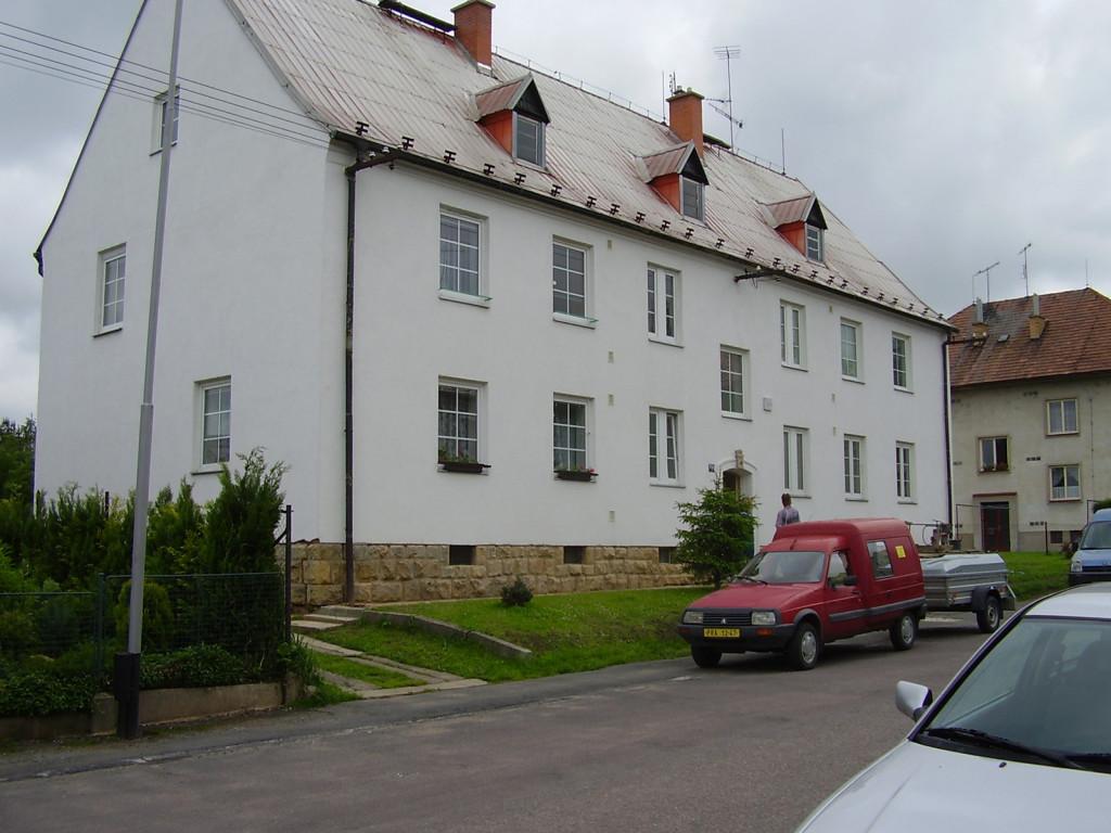 Izolace bytového domu v Lanškrouně