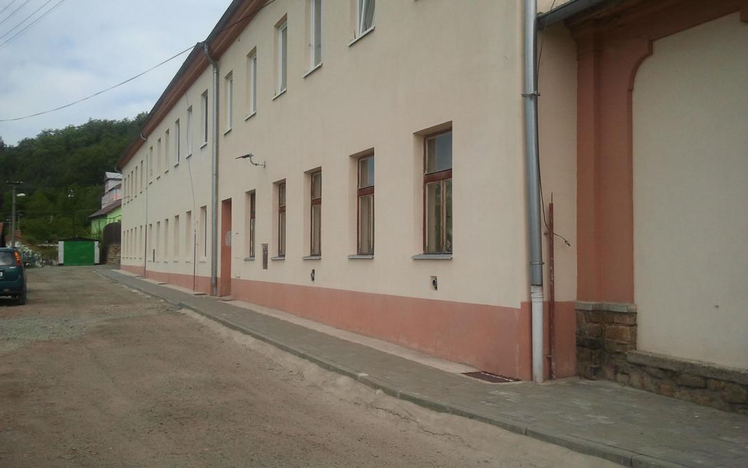 Izolace bytového domu v Zastávce u Brna