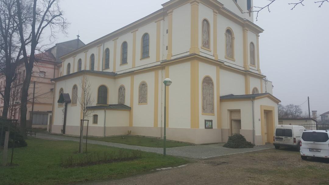 Kostel v Července