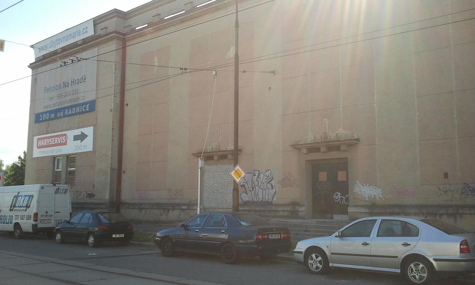 Bývalé divadlo Olomouc Hodolany