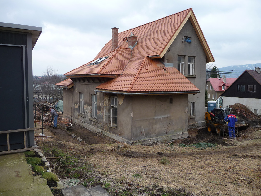 Rekonstrukce RD v Liberci